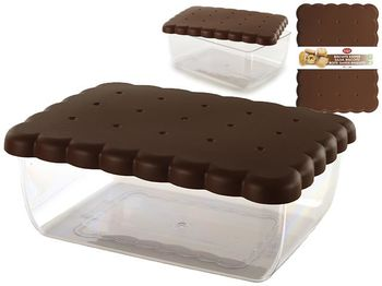 Container pentru pastrare biscuiti Snips 24.5X18.5X9.5cm, 2.7l