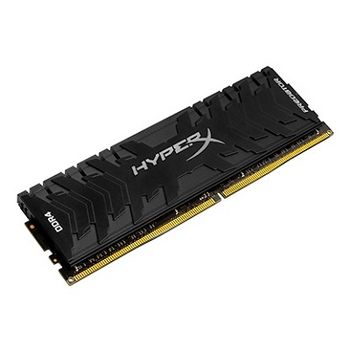 8GB DDR4-3333  Kingston HyperX® Predator DDR4, PC26660, CL16, 1.35V, Asymmetric BLACK low-profile heat spreader, Intel XMP Ready (Extreme Memory Profiles)