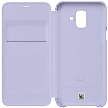 купить Чехол для моб.устройства Samsung EF-WA600, Galaxy A6, Flip Cover, Lavender в Кишинёве