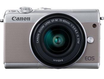 DC Canon EOS M100 Grey & EF-M 15-45 STM