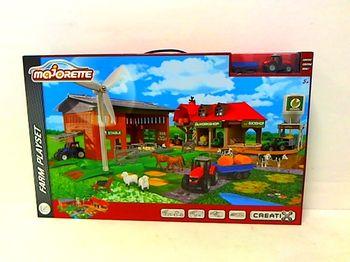 купить Majorette Игровой набор Большая ферма + трактор в Кишинёве