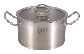Кастрюля GIPFEL GP-1235 (5,4 л)