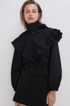 Блуза ZARA Чёрный 2731/262/800