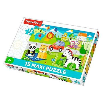 купить Fisher Price Пазлы Picnic with friends в Кишинёве