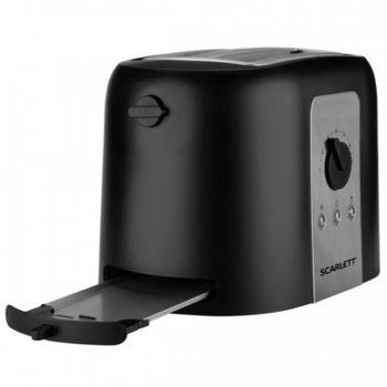 Тостер Scarlett SC-TM11016, 800Вт, Черный