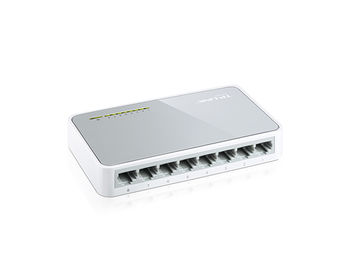 TP-LINK TL-SF1008D, Switch 8-port 10/100Mbps Mini Desktop, Plastic case