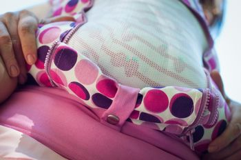 купить NapBag by Bagy Эрго рюкзак Disco Pink в Кишинёве