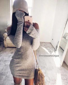 купить Платье Мадина серое в Кишинёве