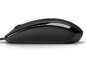 HP Optical Mouse MSU0923 black, 1000 dpi, USB, 697738-001 (mouse/мышь)