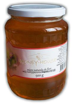 """Мед """"Honey House"""" цветочный 920г"""