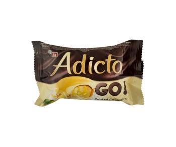 cumpără Prăjitură cu cremă de lămâie şi glazură de lămâie Eti Adicto Go lemon, 45 gr. în Chișinău