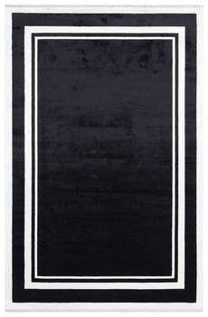 Ковёр EKOHALI Baroque BR 02 White Black