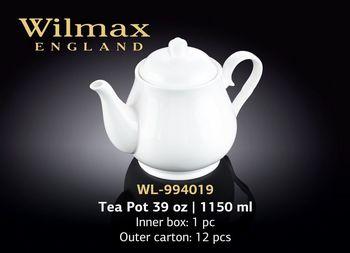 Чайник заварочный WILMAX WL-994019/A (1150 мл)