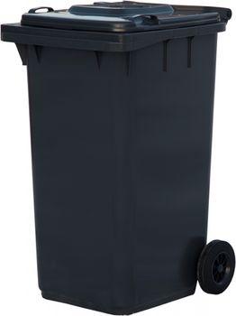 240L, Kонтейнеры для мусора, черный