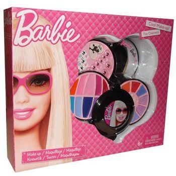 Barbie Набор косметики в круглой упаковке