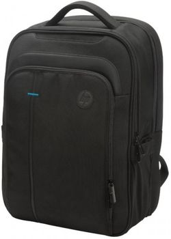 "HP NB Backpack 15.6"",  Legend Backpack, From the materials to the included features, this bag is as robust as they come. It's got plenty of pockets, durable handles, and a removable shoulder strap, Black"