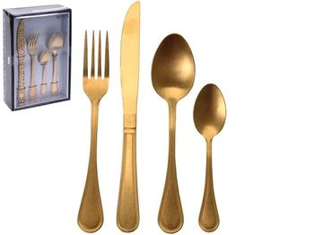 "Set tacamuri de masa 16buc ""Antichitate"", bronz"