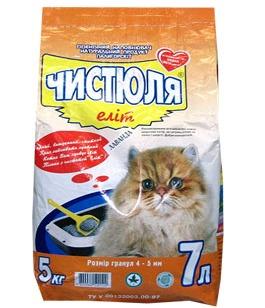 cumpără Наполнитель для кошачьего туалета ЧИСТЮЛЯ Элит în Chișinău