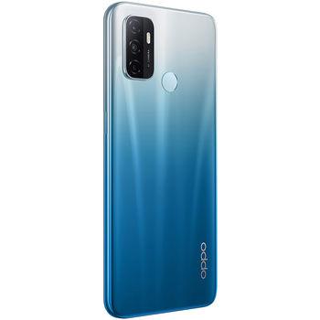 "Смартфон 6.5"" OPPO A53 EU 128GB Blue 4GB RAM, Snapdragon 460 SM4250 Octa-core, Adreno 610, DualSIM, 6.5"" 720x1600 IPS 270 ppi, TripleCam 13MP&2MP&2MP, front 16MP, LED flash, 5000mAh,WiFi, BT5.0, LTE, Android 10 (ColorOS 7.2)"
