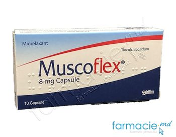 купить Muscoflex® caps. 8mg N10 в Кишинёве