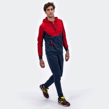Спортивный костюм JOMA - ESSENTIAL MARINO-ROJO