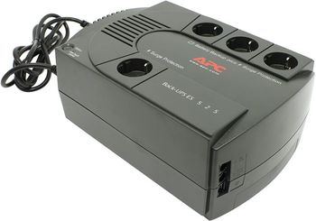 APC BE525-RS Back-UPS ES 525VA/ 230V RUSSIA, 3 x Battery BaCK+1 Surge Protected (180 Joules)