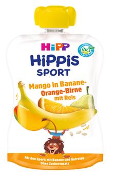 cumpără Hipp Sport din mango, banană, portocală, pară și orez, 1+ ani, 120  g în Chișinău