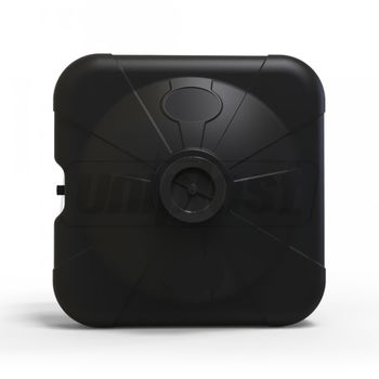 купить Емкость  - душ 100 л (черная) + душевая насадка (3-хслойная) 75 x 75 x 31/20cm горл. (0,17m3) в Кишинёве