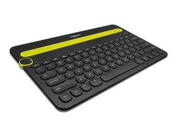 купить Wireless Keyboard Logitech K480 Multi-Device, Compact, FN key, Cradle, Bluetooth, 2xAAA, Black в Кишинёве