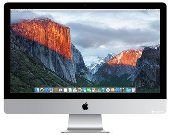 "All-in-One PC - 27.0"" APPLE iMac (Mid 2017) 5K Retina IPS, 3.5 GHz Intel Core i5 Quad-Core, 8GB DDR4 RAM, 2TB Fusion Drive, AMD Radeon Pro 580 8GB, Card Reader, Thunderbolt 3, 802.11ac Wi-Fi/BT4.2, Magic Keyboard & Magic Mouse 2, macOS High  Sierra"