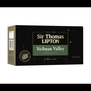 купить Чай в пакетиках Sir Thomas Lipton Sichuan Valley зеленый, 25 шт. в Кишинёве