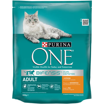 купить Purina One Adult Cat Chicken & WhlG 800 gr в Кишинёве