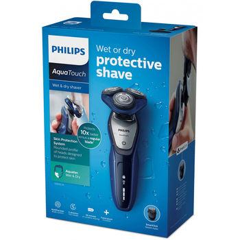 купить Электробритва для сухого и влажного бритья Philips AquaTouch S5600/41 в Кишинёве