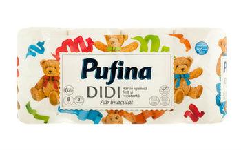 cumpără Hartie igienica Pufina DIDI 8 role 3 straturi în Chișinău