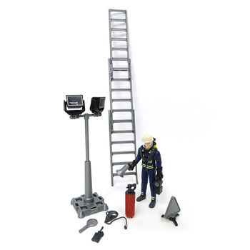 Фигурка пожарного с аксессуарами, код 42311