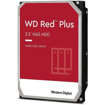 "3.5"" HDD 8TB Western Digital Red Plus (NAS Storage) WD80EFBX, 7200 RPM, SATA3 6GB/s, 256MB (hard disk intern HDD/внутренний жесткий диск HDD)"