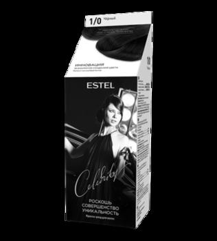 Краска для волос, ESTEL Celebrity, 125 мл., 1/0 - Черный