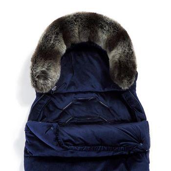 купить Конверт в коляску La Millou Uni Velvet Collection Royal Navy в Кишинёве