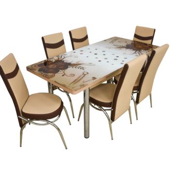 Комплект Келебек ɪɪ 358 + 6 стульев