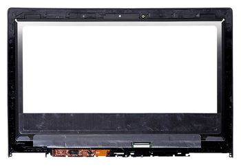 "Display 13.3"" LED Slim 40 pins QHD+ (3200x1800) w/Touch Digitizer w/Frame for Lenovo IdeaPad Yoga 2 Pro LG LTN133YL01-L01"