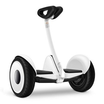 "Xiaomi Ninebot Mini Self Balancing Scooter, White, Wheel 10.5"", Speeds of up to:16km/h, Battery capacity:22km in a single charge, Weight:12.8kg, IP54, Auto-sensing LED taillight / turn, Maximum load: 85kg, Remote control via Smartphone"