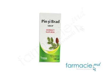 купить Pin si Brad sirop 100 ml VivaPharma в Кишинёве