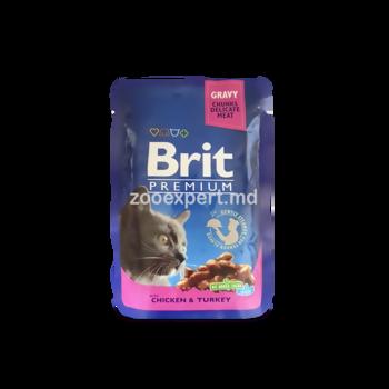 купить Brit Premium с лососем и форелью 100 gr в Кишинёве