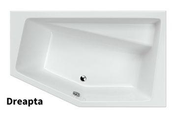 Ванна асимметричная Excellent Vesper 160