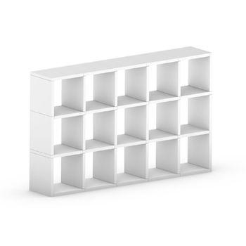 cumpără Etajeră Boon 1092x1803x330 mm,alb în Chișinău