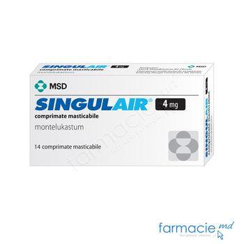 купить Singulair® comp. masticab. 4 mg N14 в Кишинёве