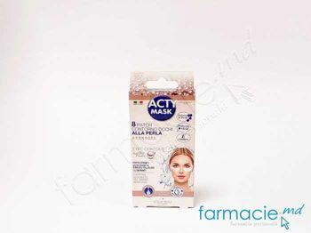 купить Acty Mask Emplastru pt ochi hidratanta cu extract de alge , collagen, aloe, Vit E N 8 ( 165864) в Кишинёве