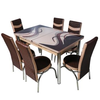 Комплект Келебек ɪɪ 191 + 6 стульев