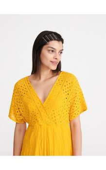 Платье RESERVED Желтый
