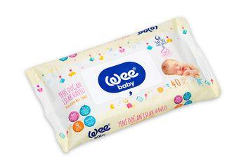 купить Салфетки влажные Wee Baby (0+) 40 шт в Кишинёве